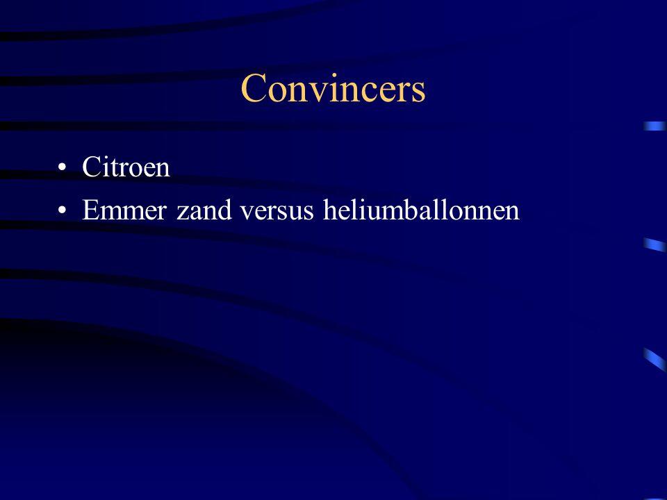 Convincers Citroen Emmer zand versus heliumballonnen