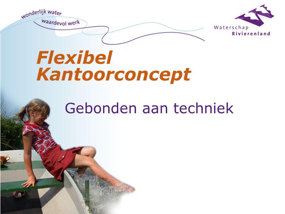 Flexibel Kantoorconcept Gebonden aan techniek