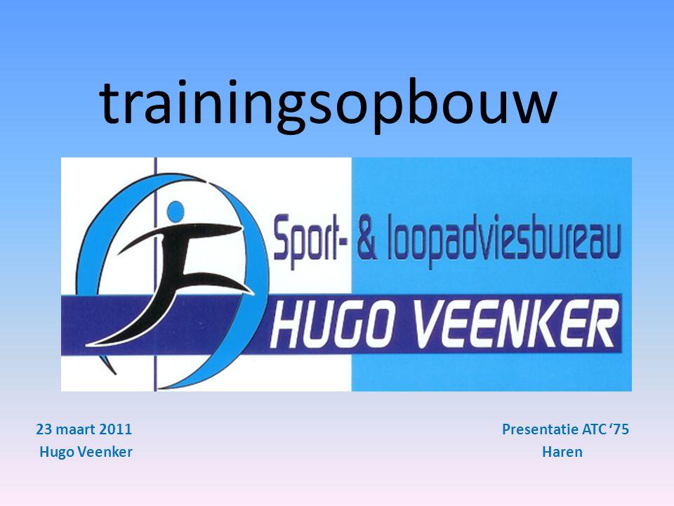trainingsopbouw 23 maart 2011 Presentatie ATC '75 Hugo Veenker Haren