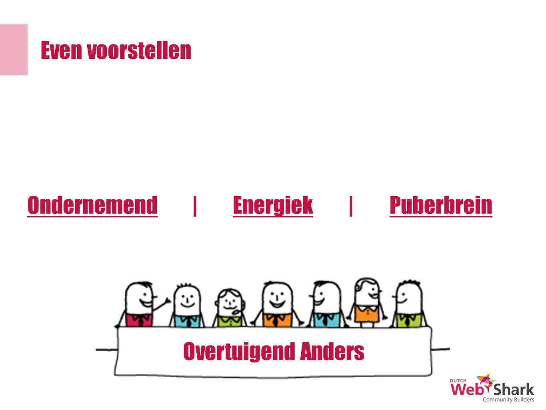 OndernemendPuberbreinEnergiek|| Overtuigend Anders Even voorstellen