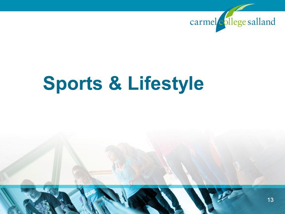 Sports & Lifestyle 13