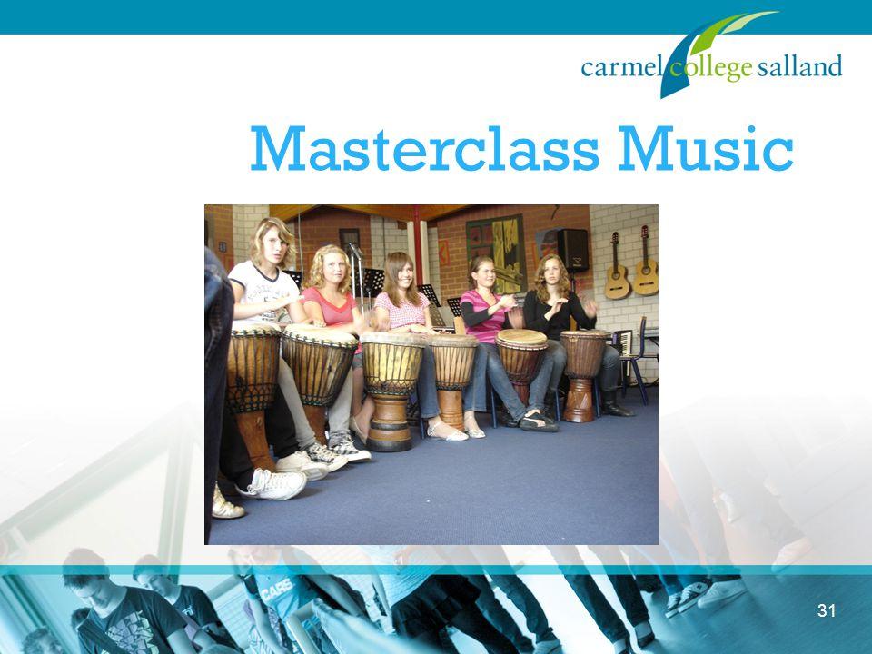 31 Masterclass Music