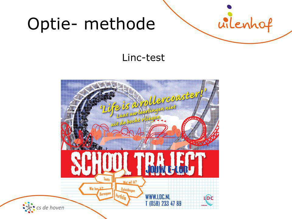Optie- methode Linc-test