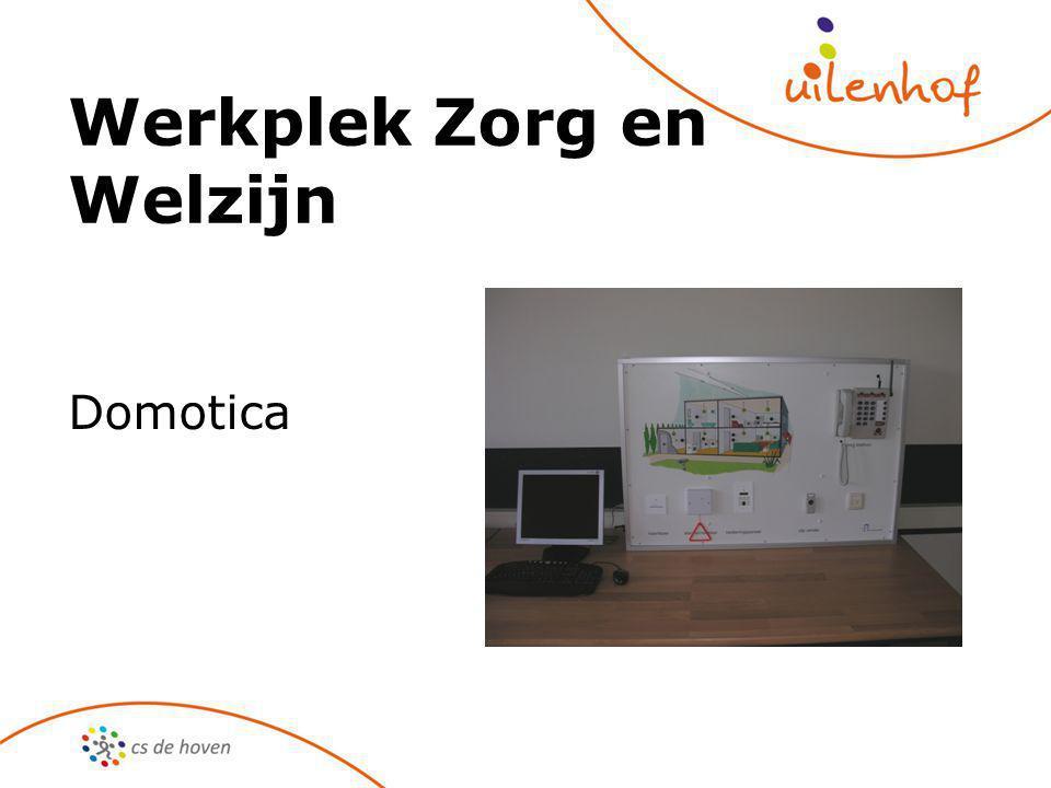 Werkplek Zorg en Welzijn Domotica