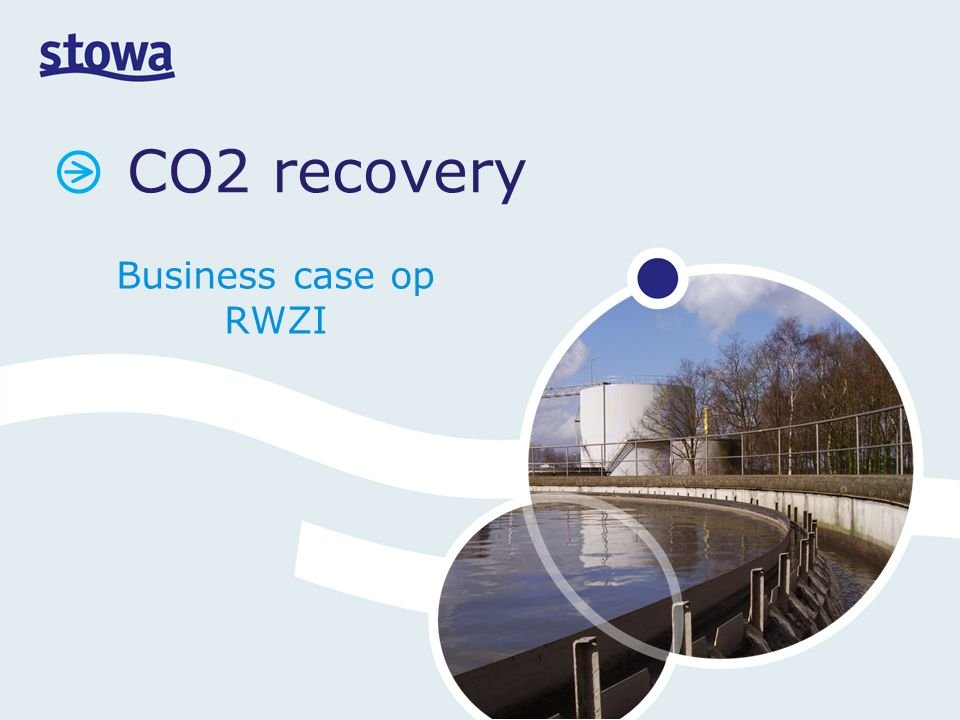 CO2 recovery Business case op RWZI