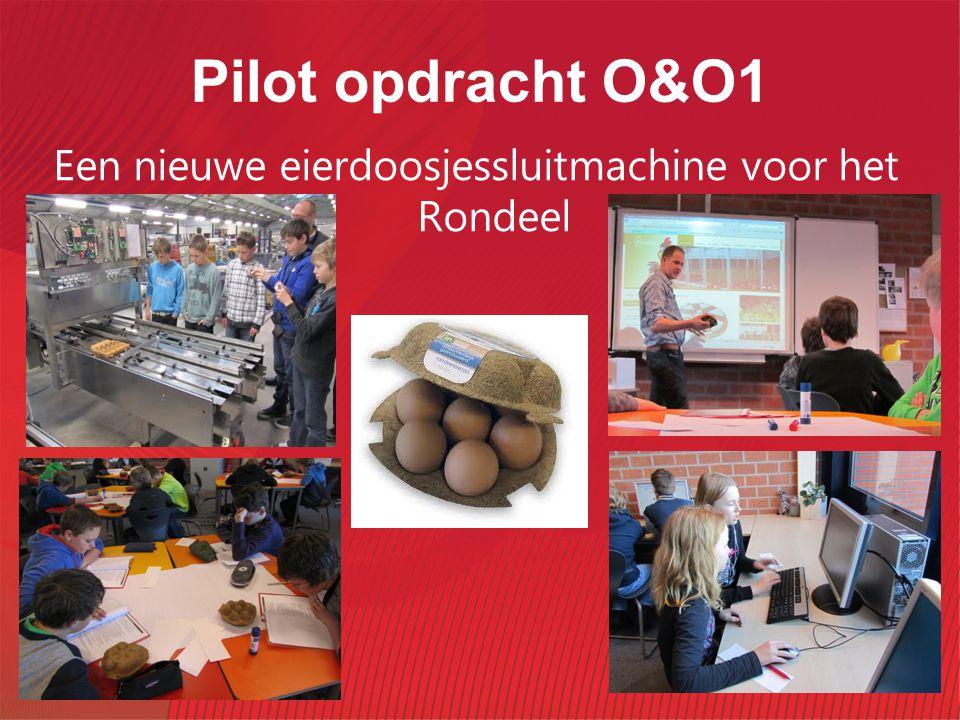 Pilot opdracht O&O1 Een nieuwe eierdoosjessluitmachine voor het Rondeel