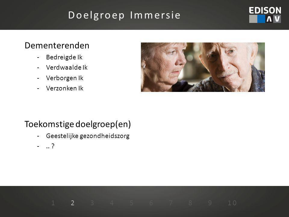 1 2 3 4 5 6 7 8 9 10 Service en Ondersteuning Actuele status Immersieproject - Verschijnt halverwege 2013 op de markt - Doorontwikkeling Content database aanvullen - Limburgs museum -..