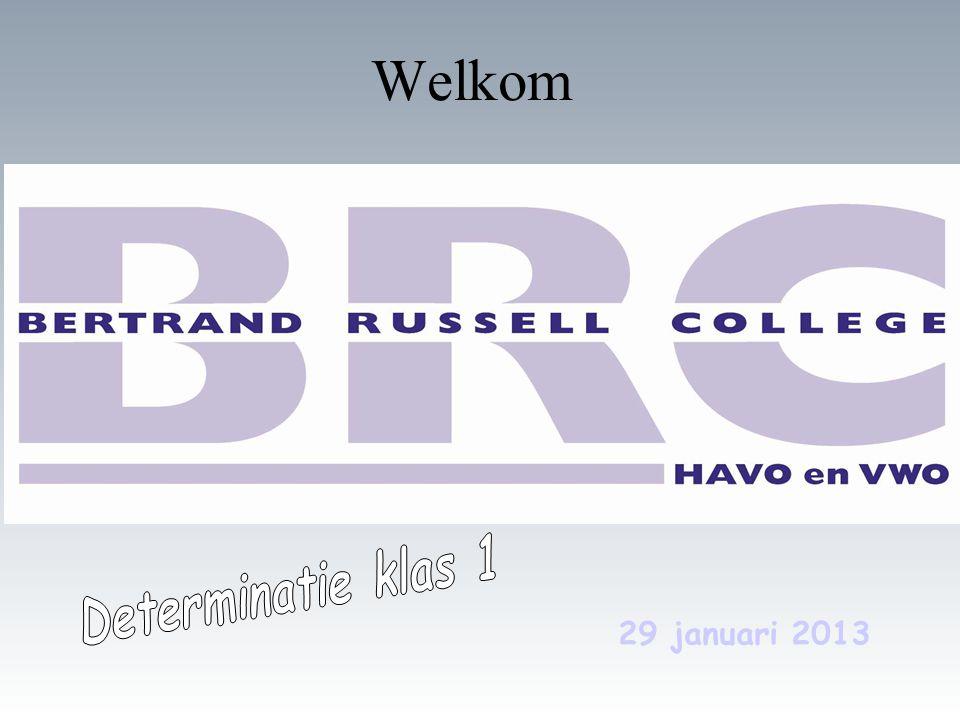 29 januari 2013 Welkom