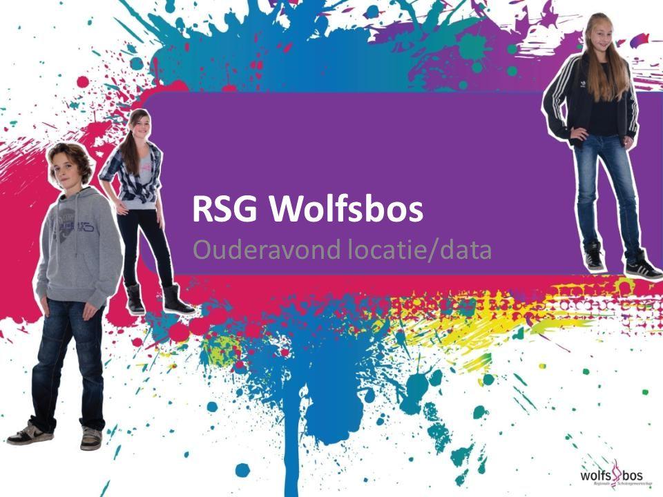 RSG Wolfsbos Ouderavond locatie/data