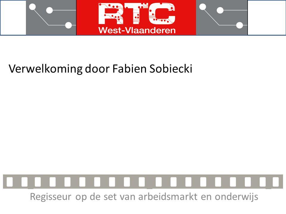 Regisseur op de set van arbeidsmarkt en onderwijs Verwelkoming door Fabien Sobiecki
