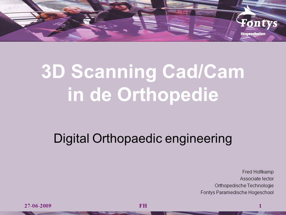 Cam Manufacturing Digital Orthopaedic Engineering II