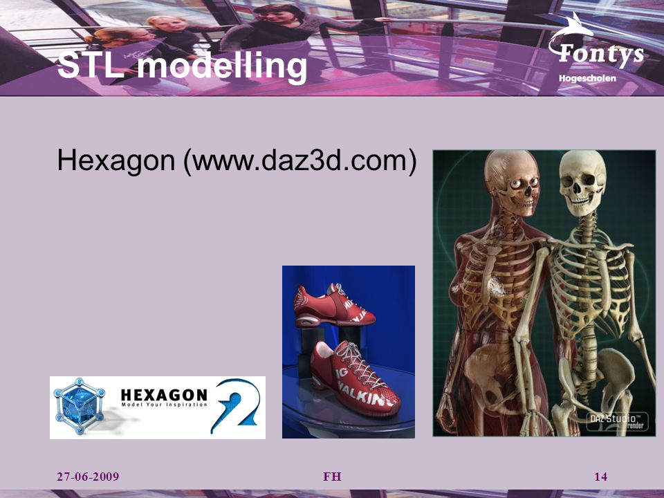 FH STL modelling Hexagon (www.daz3d.com) 1427-06-2009