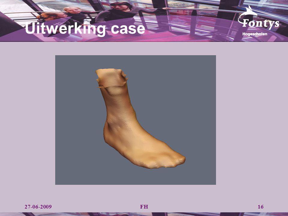 FH Uitwerking case 1627-06-2009