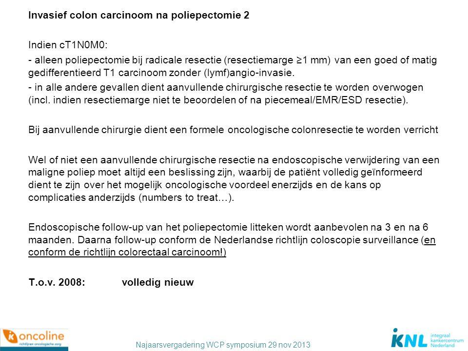 Najaarsvergadering WCP symposium 29 nov 2013 Moleculaire bepalingen Bij patiënten die in aanmerking komen voor behandeling met tegen EGF-R gerichte antilichamen, dient de KRAS mutatie status van de tumor te worden bepaald.