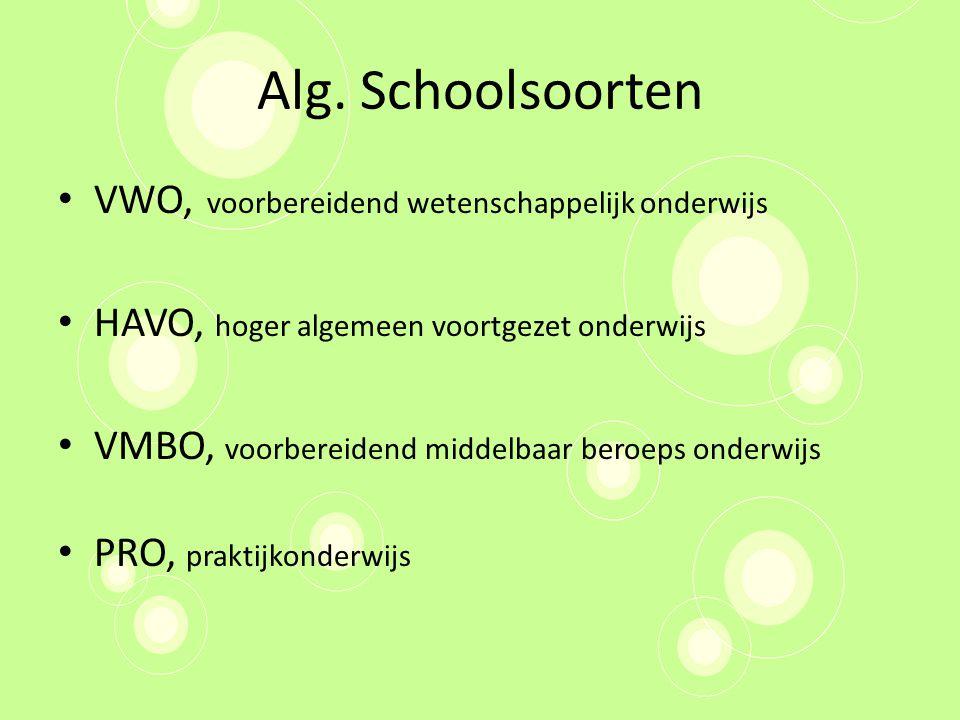 Leerwegondersteunend Onderwijs Voor alle leerwegen binnen het VMBO Extra ondersteuning – Bijv.