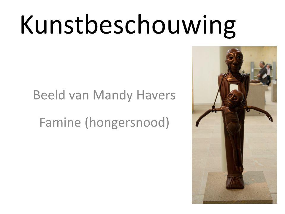 Kunstbeschouwing Beeld van Mandy Havers Famine (hongersnood)
