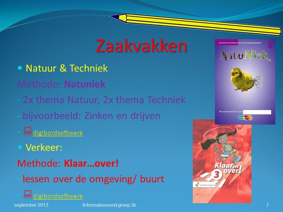 Zaakvakken Natuur & Techniek Methode: Natuniek - 2x thema Natuur, 2x thema Techniek - bijvoorbeeld: Zinken en drijven -  digibordsoftware digibordsof