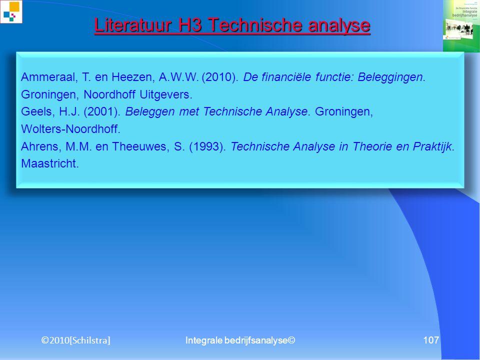 Integrale bedrijfsanalyse©106 Literatuur H3 Bedrijfstaklevenscyclus Literatuur H3 Bedrijfstaklevenscyclus De Jong, H.W.