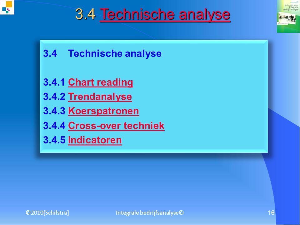 ©2010[Schilstra]Integrale bedrijfsanalyse© 15 3.2 Omzet- en winstanalyse 3.2.1 Geografische verdelingGeografische verdeling 3.2.2 Verdeling naar activ