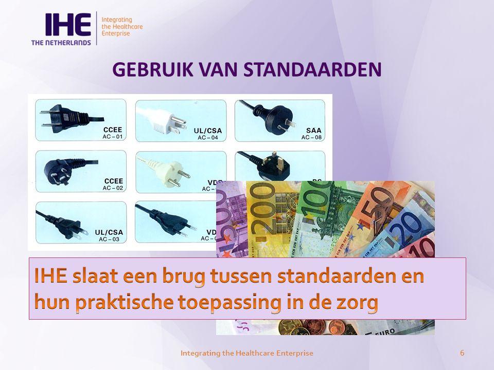 GEBRUIK VAN STANDAARDEN Integrating the Healthcare Enterprise6