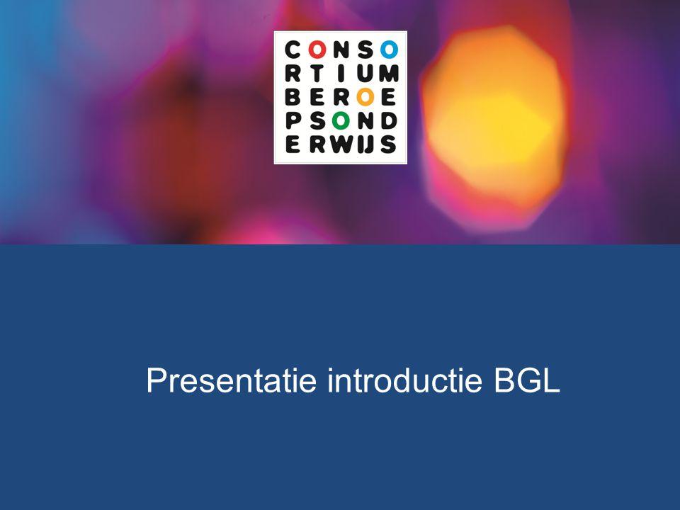Presentatie introductie BGL