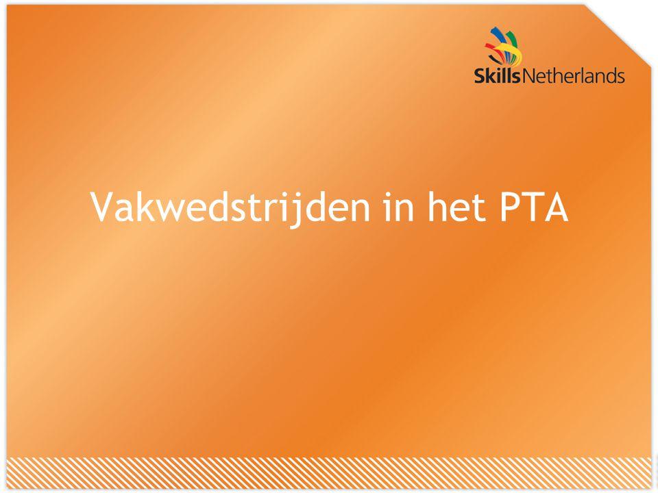 Vakwedstrijden in het PTA