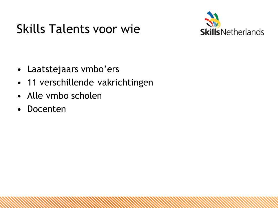 Skills Talents: waarom.