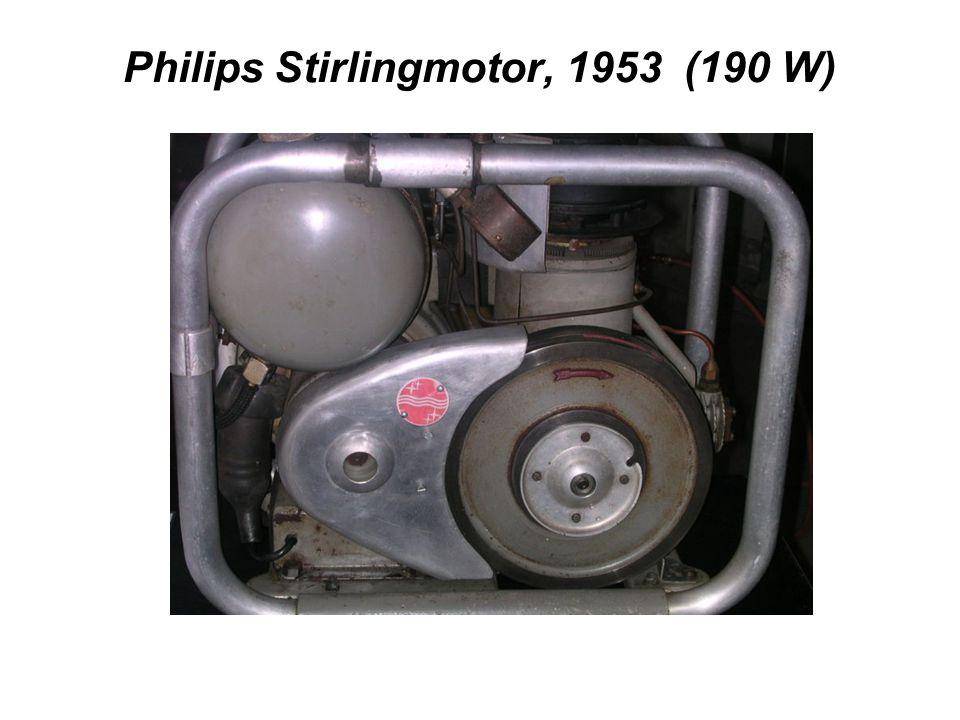 Philips Stirlingmotor, 1953 (190 W)