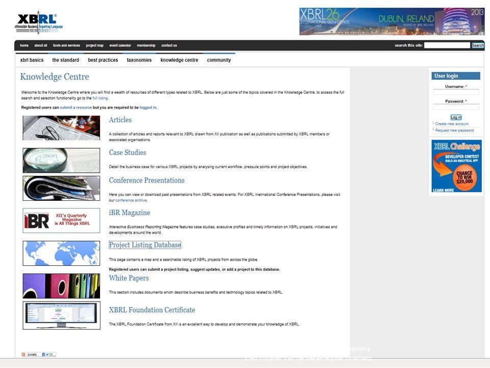 29Standard Business Reporting Programma Een initiatief van de Nederlandse overheid