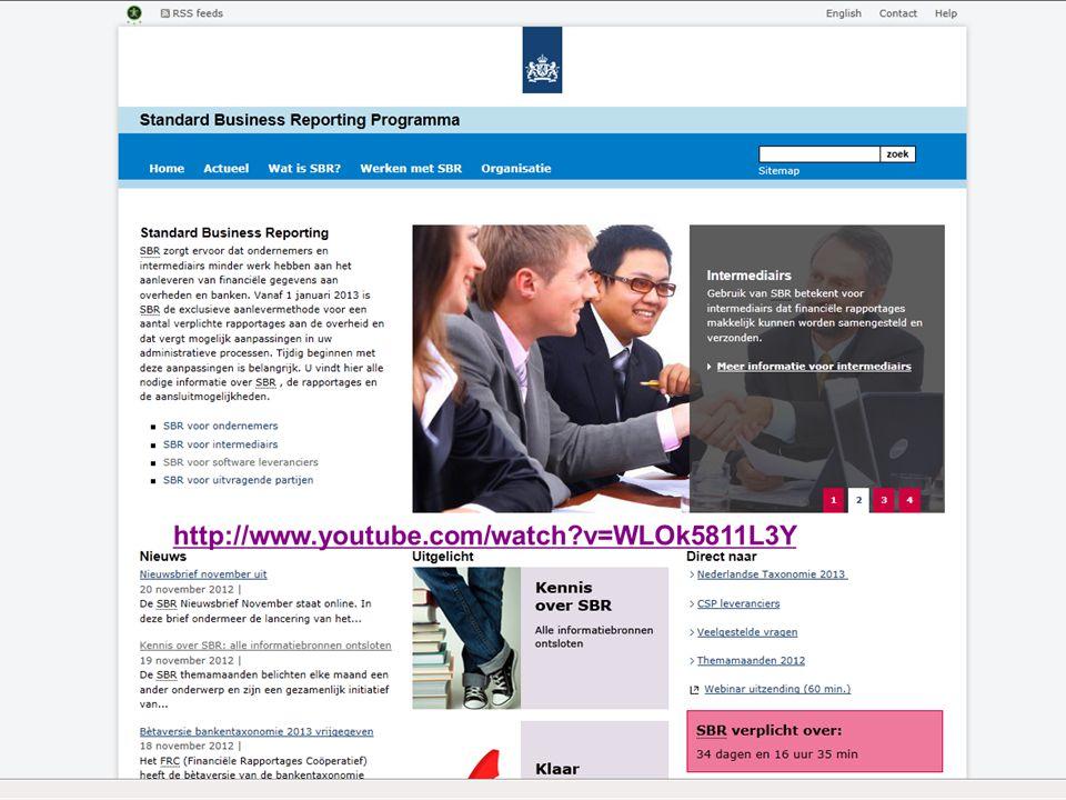 35Standard Business Reporting Programma Een initiatief van de Nederlandse overheid