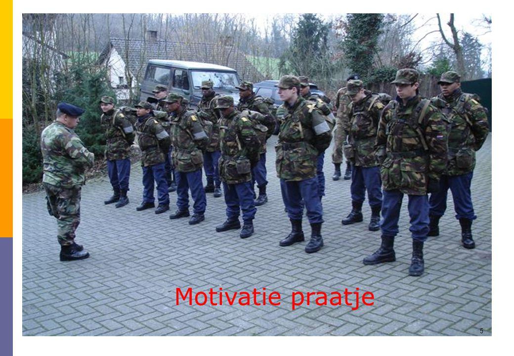 5 Motivatie praatje