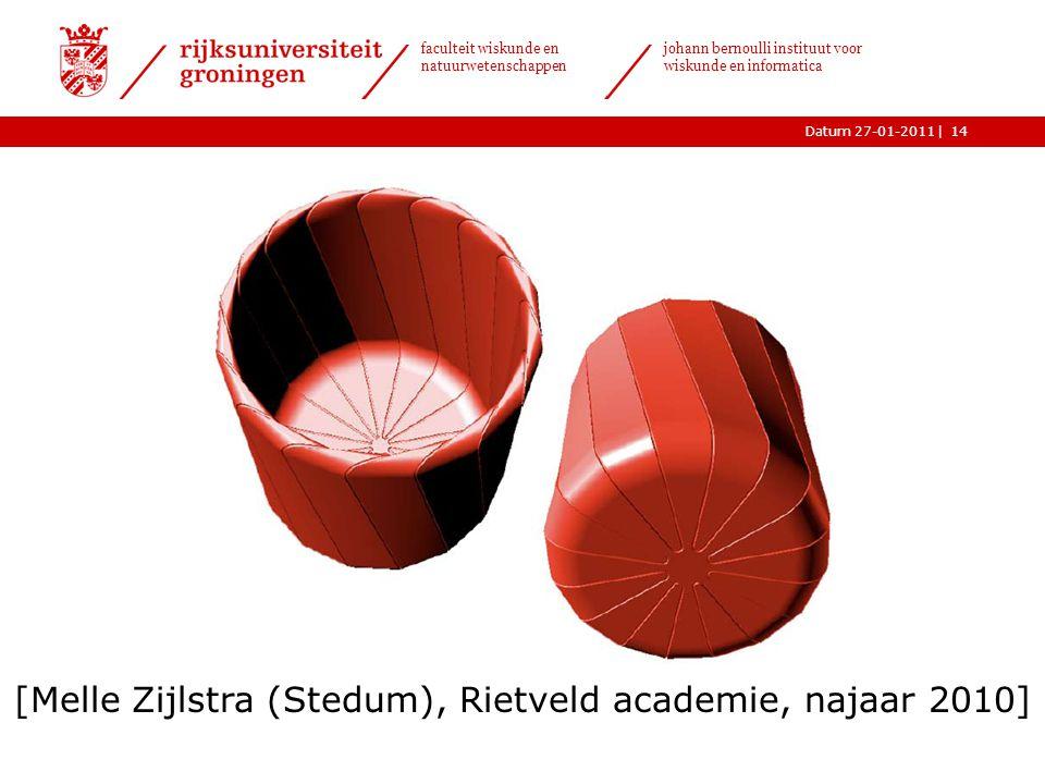 |Datum 27-01-2011 faculteit wiskunde en natuurwetenschappen johann bernoulli instituut voor wiskunde en informatica 14 [Melle Zijlstra (Stedum), Rietv