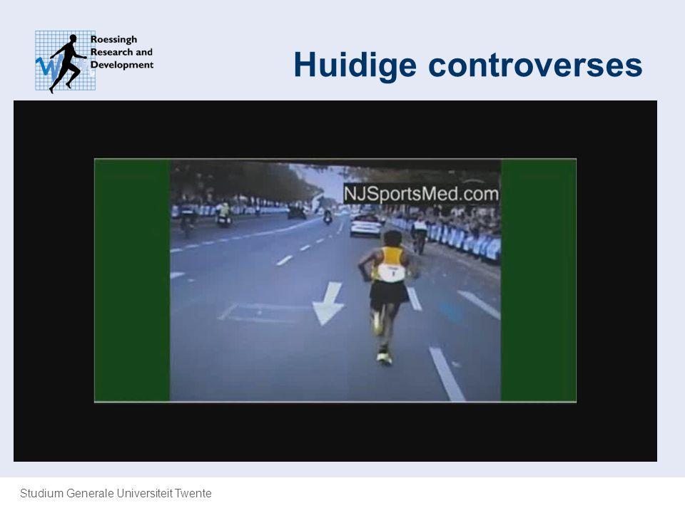 Studium Generale Universiteit Twente Huidige controverses Haile Gebreselassie –Overpronatie om schok op te vangen