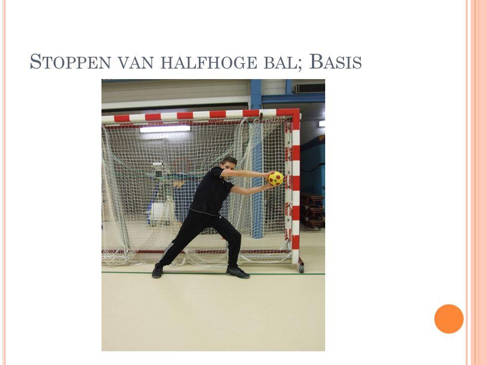 S TOPPEN VAN HALFHOGE BAL ; B ASIS