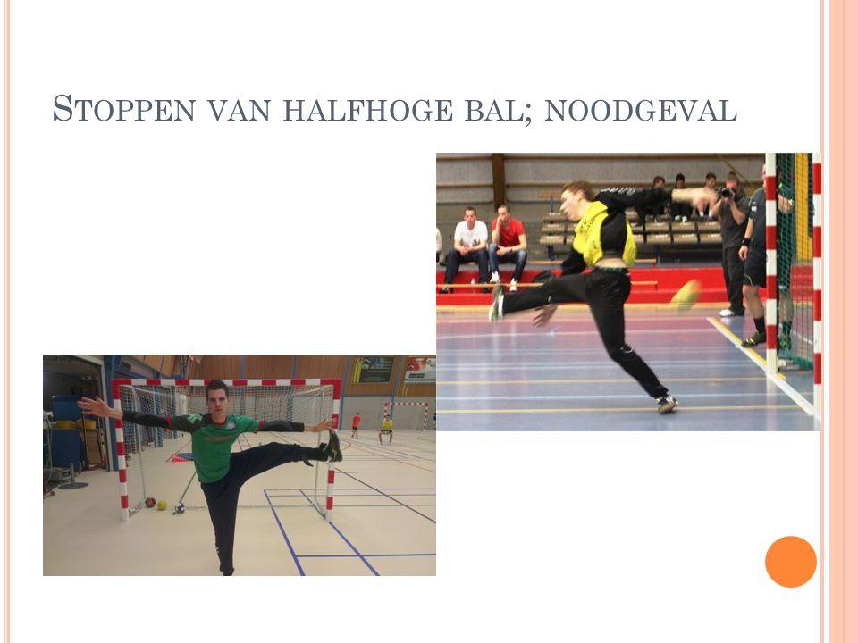 S TOPPEN VAN HALFHOGE BAL ; NOODGEVAL