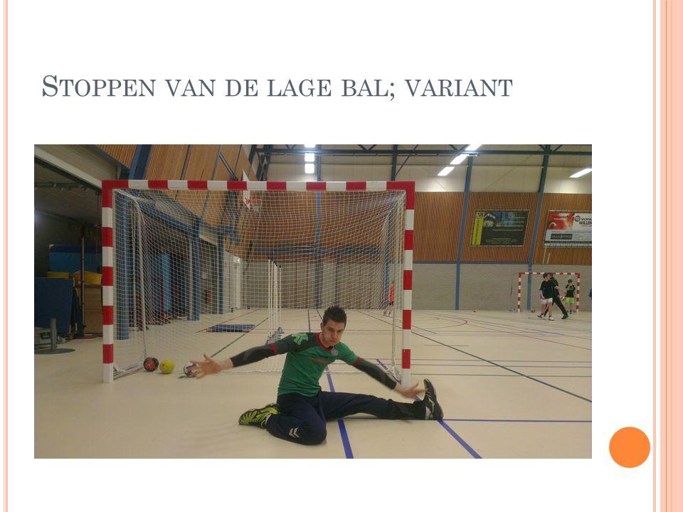 S TOPPEN VAN DE LAGE BAL ; VARIANT