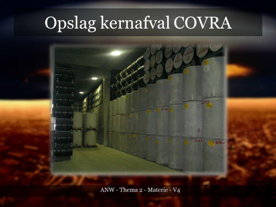 Opslag kernafval COVRA
