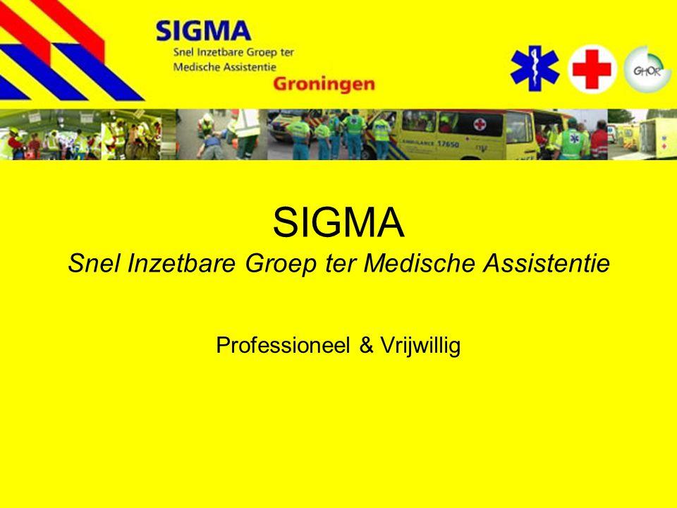 SIGMA Snel Inzetbare Groep ter Medische Assistentie Professioneel & Vrijwillig