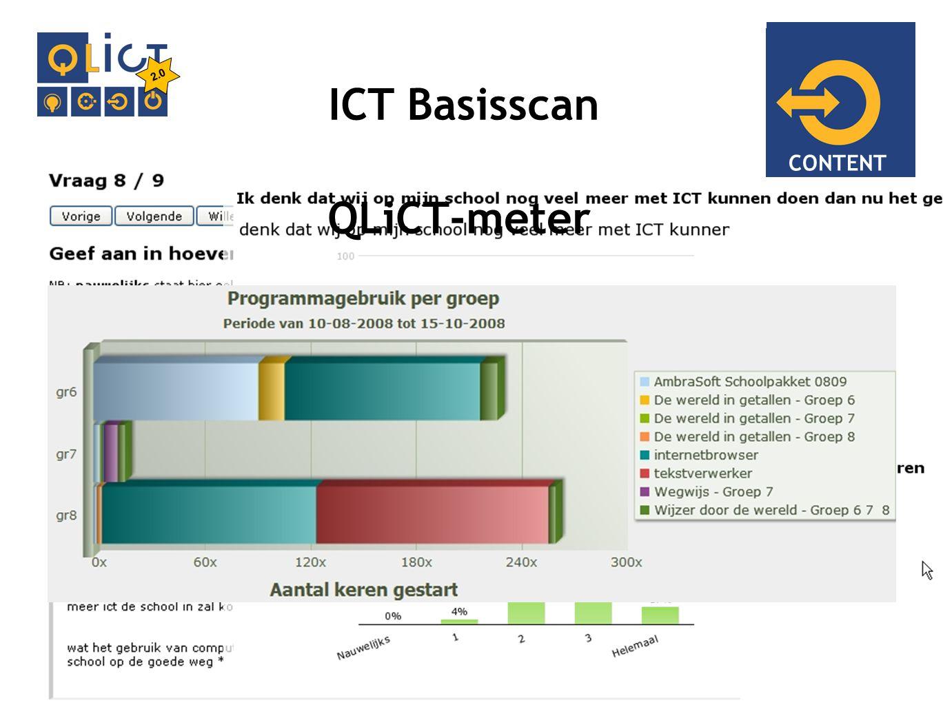 IMPLEMENTATIE ICT Basisscan 2.0 CONTENT QLiCT-meter
