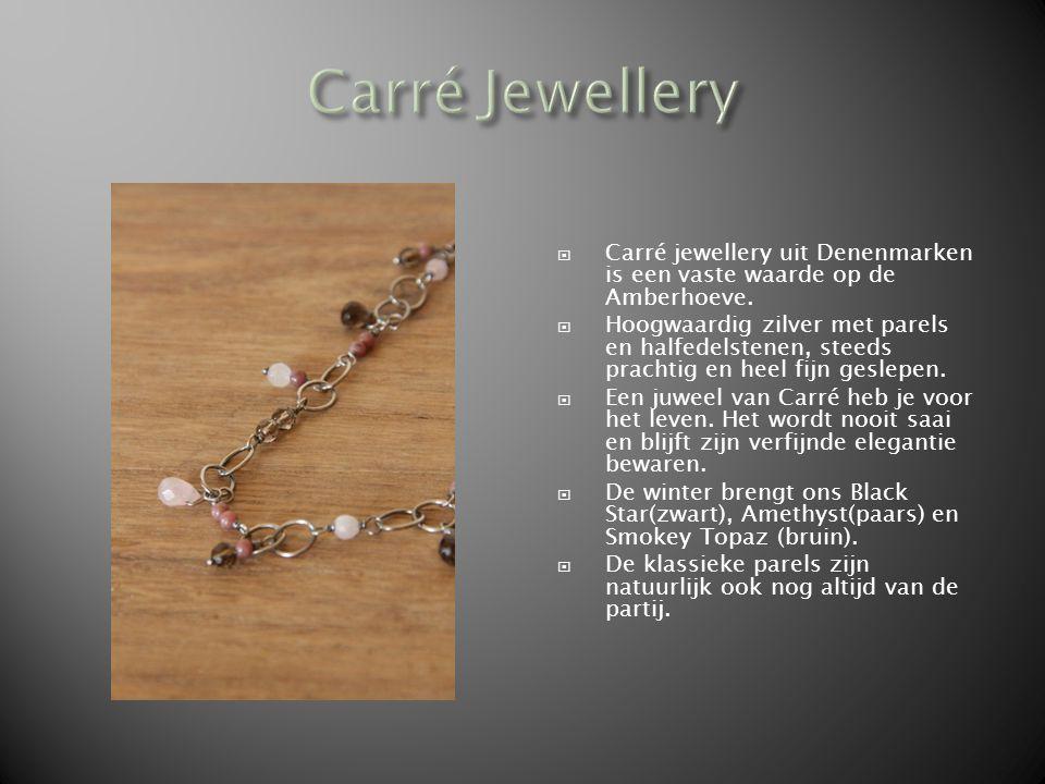  Carré jewellery uit Denenmarken is een vaste waarde op de Amberhoeve.