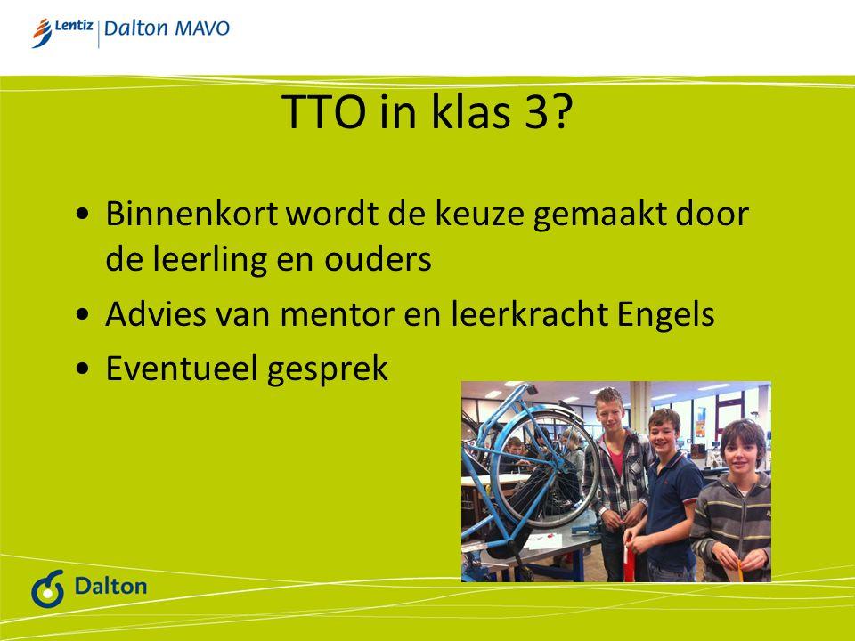 TTO in klas 3.