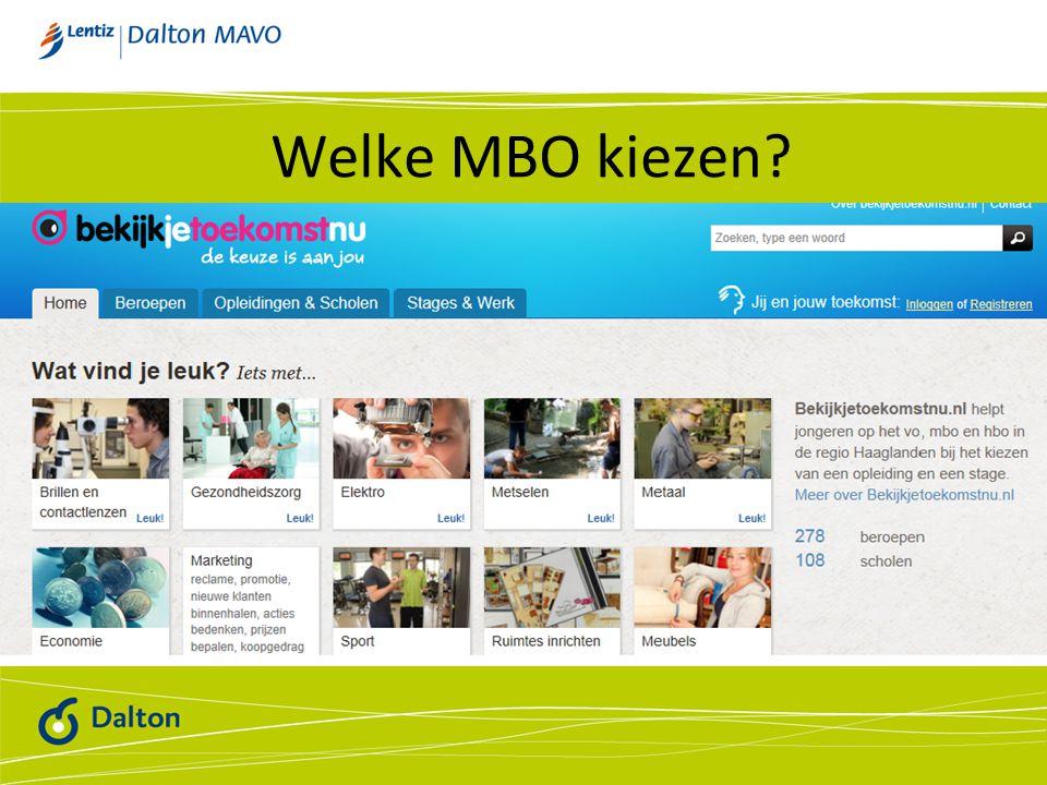Welke MBO kiezen?