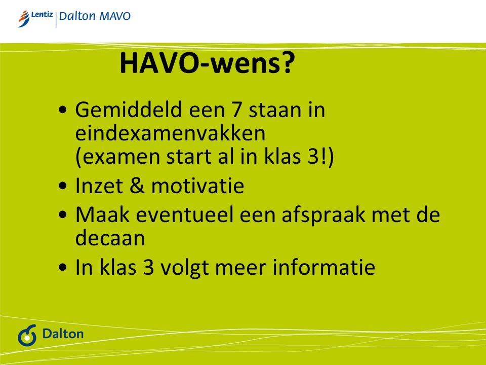 HAVO-wens.