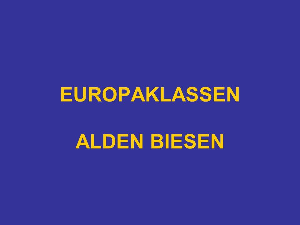 EUROPAKLASSEN ALDEN BIESEN
