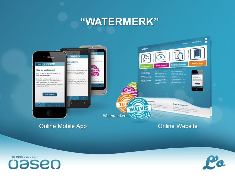 """WATERMERK"" Watermerken Online Mobile App Online Website"