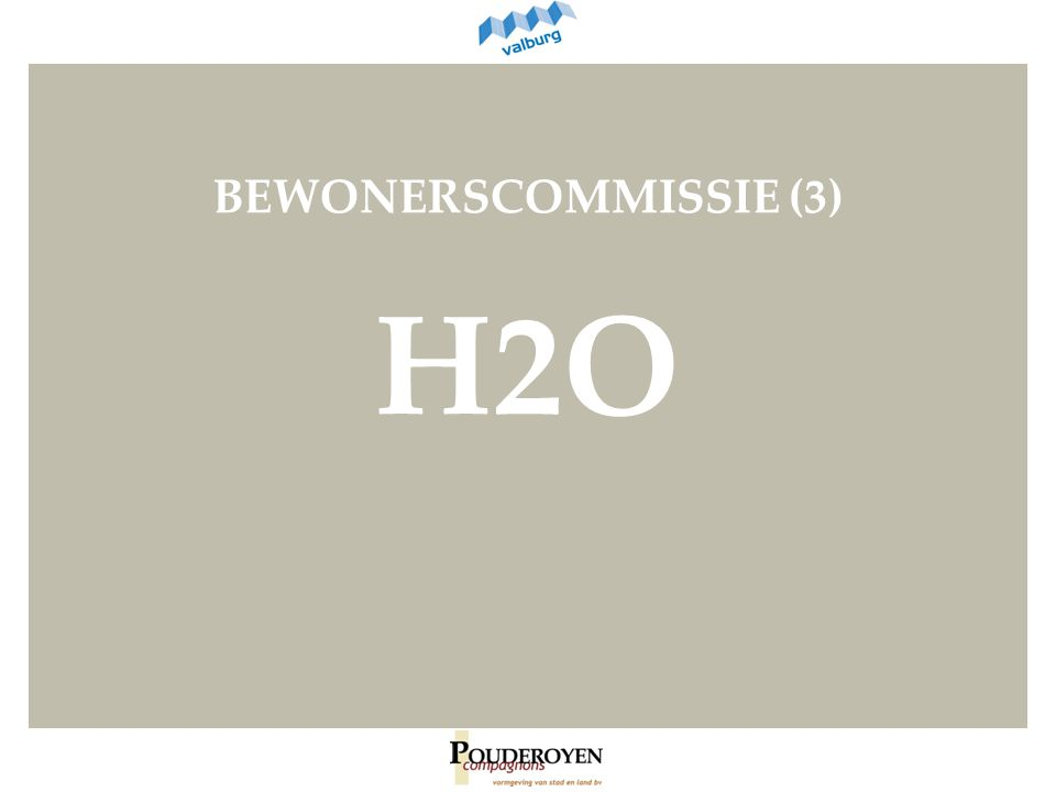 BEWONERSCOMMISSIE (3) H2O