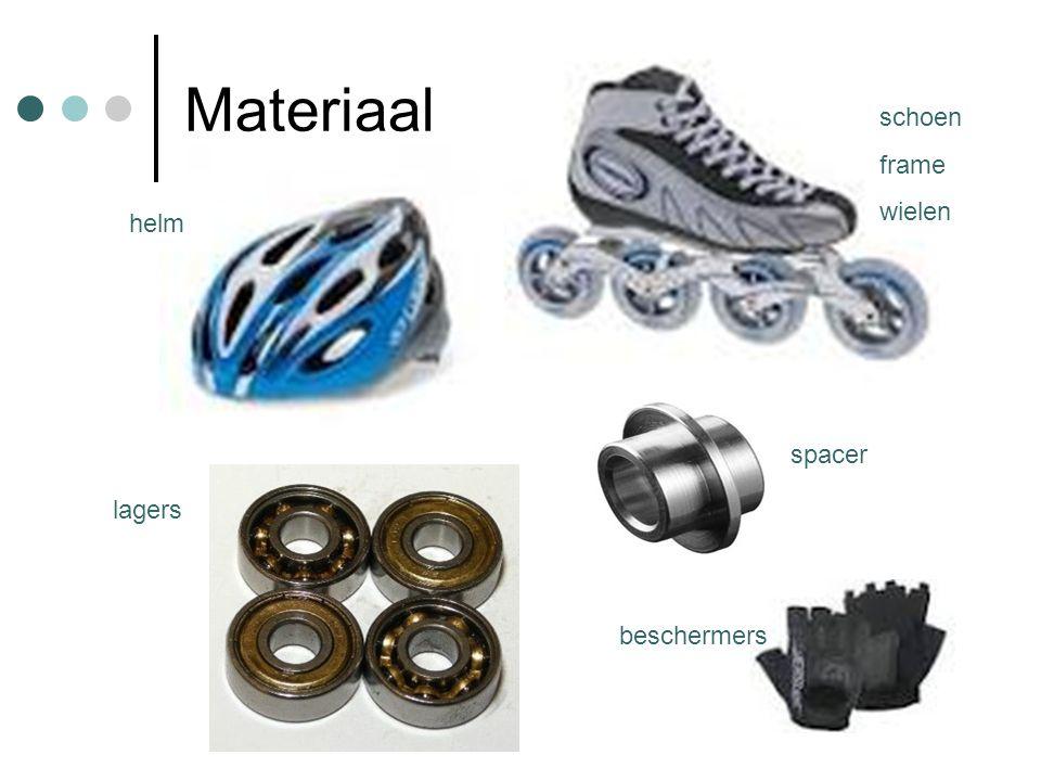 Materiaal lagers schoen frame wielen helm spacer beschermers