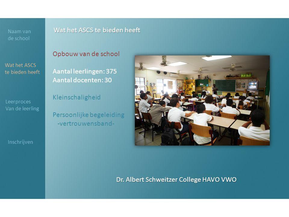 Dr. Albert Schweitzer College HAVO VWO