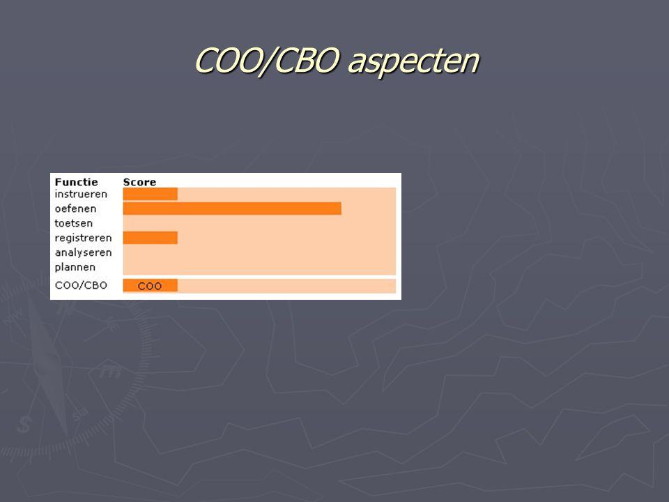 COO/CBO aspecten