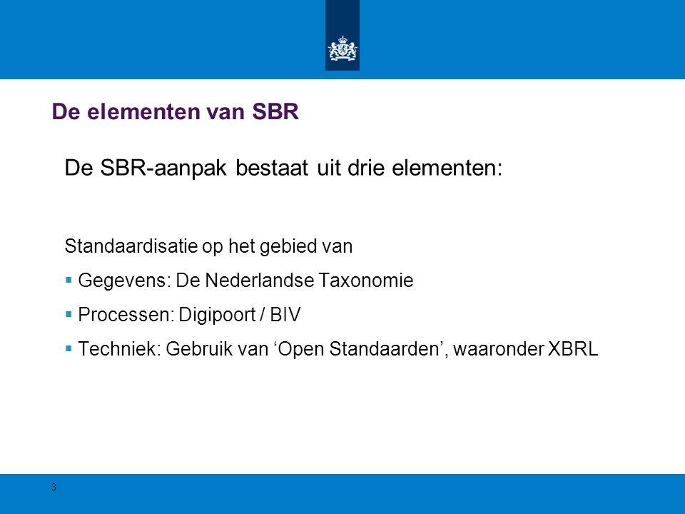 Wat is XBRL? XBRL is BAR-code voor data 4